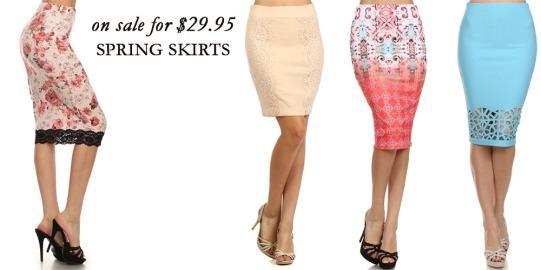 Spring Skirts 2015 Banner